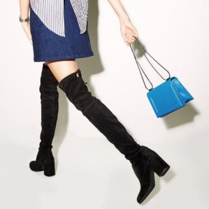 $798+ $125 Reward Card Stuart Weitzman Tieland Over The Knee Boots