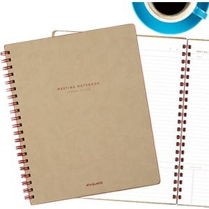 AT-A-GLANCE® Collection Meeting Notebook Large Twin Wire (YP141-07) - AT-A-GLANCE
