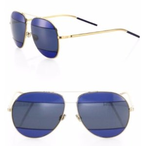 Dior Split2 59MM Mirrored Aviator Sunglasses