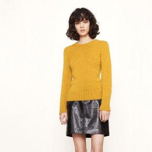 MARNE Fluffy-knit jumper - Sweaters - Maje.com