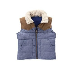 Sherpa Puffer Vest at Crazy 8