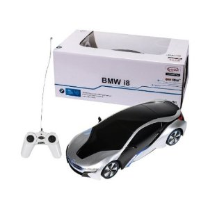 $17.84 Lightning deal! RASTAR 1/24 Scale BMW I8 Radio Remote Control Sport Racing Car RC,Silver
