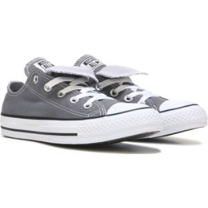 Converse Chuck Taylor All Star Double Tongue Low Top Sneaker Thunder /Casino