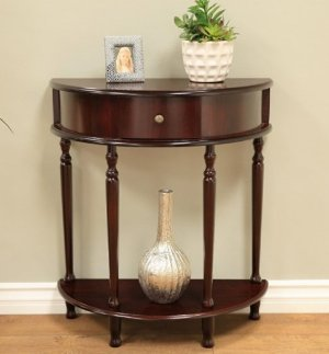 $32.99 Frenchi Home Furnishing End Table/Side Table, Espresso Finish