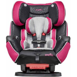 Evenflo Symphony LX All-in-One Convertible Car Seat, Adrianne