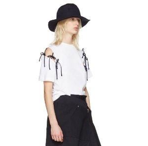 $165Facetasm Tie Shoulder T-Shirt @ SSENSE