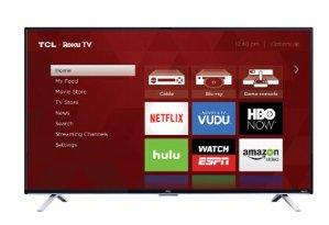 TCL 55US5800 55-Inch 4K Ultra HD Roku Smart LED TV (2016 Model)