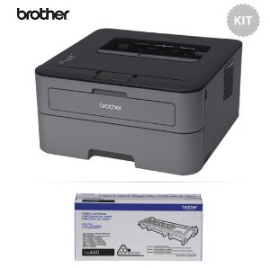 $79.95Brother HL-L2300D Monochrome Laser Printer with Additional High Yield Toner Cartridge Kit