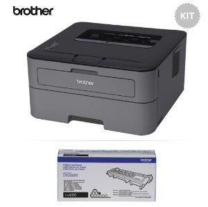 $79.95 (原价$139.95) 包邮免税Brother HL-L2300D 高速激光打印机 + 额外硒鼓套装