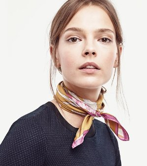 50% Off + Free Shipping With Scarves Purchase @ Ann Taylor