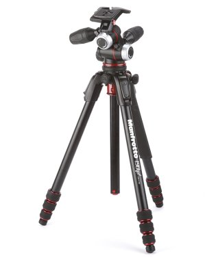 $179.88 Manfrotto 190Go! 4-Section Aluminum Tripod