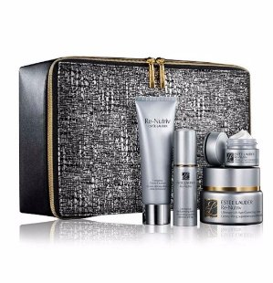 10% Off + Free 7-p Gift Estee Lauder Re-Nutriv Indulgent Luxury For Face Gift Set @ Bon-Ton