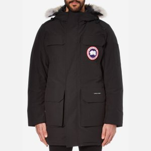 Canada Goose Men's Citadel Parka - Black - Free UK Delivery over £50