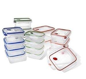 STERILITE 03078601 Ultra-Seal Food Storage Set, 36 Piece