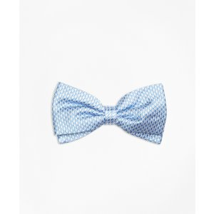 Mini Houndstooth Pre-Tied Bow Tie - Brooks Brothers