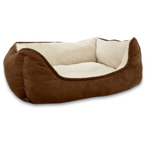 Petco Brown Box Dog Bed, 24