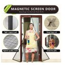 Magnetic Screen Door,Heavy Duty Mesh Screen & Full Frame Velcro-Keep Bugs out