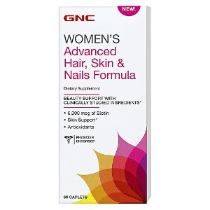 GNC Women's Advanced Hair, Skin & Nails Formula - GNC - GNC