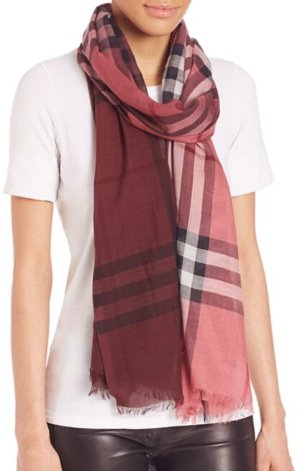 30% Off Select Burberry Scarf @ Saks Fifth Avenue