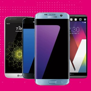 Get more than TAX back via prepaid card!Sign up for T-Mobile ONE, purchase ANY smartphone