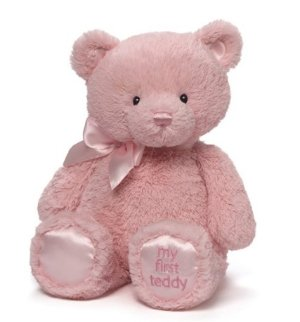 $11.97 GUND My First Teddy Baby Stuffed Animal, 15 inches