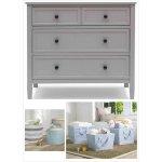 Delta Children Epic 3-Drawer Dresser with BONUS Storage Set