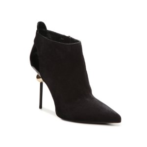 Final Sale - Roger Vivier Suede Pointed Toe Bootie | DSW