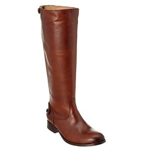 Frye Women's Melissa Button Back Zip Leather Boot