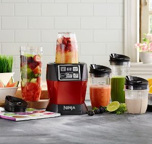Nutri Ninja Auto iQ 1100W Personal Blender with Smooth Boost