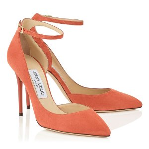 Agate Suede Pointy Toe Pumps