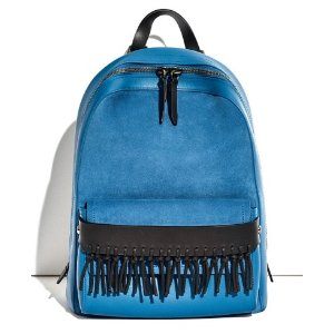 Bianca mini backpack with fringe