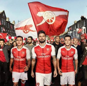 Up to 50% Off Arsenal gear  @PUMA