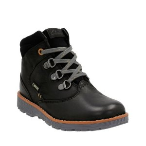 Day Hi GTX Toddler Black Leather - Boys Boots - Clarks® Shoes Official Site
