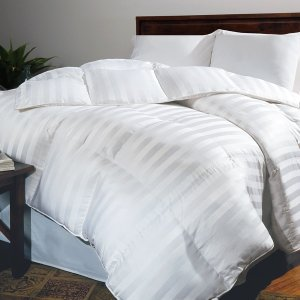 Hotel Grand Oversized 500 Thread Count Extra Warmth Siberian White Down Comforter - 11575390 - Overstock.com Shopping - Great Deals on Hotel Grand Down Comforters