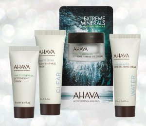 Free Sea Travel Set ($35 value) on Orders $85+ @AHAVA