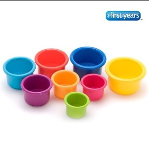 $3.67 The First Years Stacking Up Cups