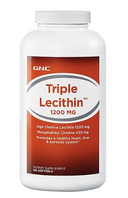 $12GNC Triple Lecithin™ 1200 MG 180 softgels