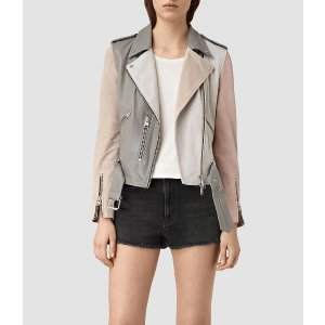 Murray Leather Biker Jacket