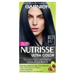Garnier Nutrisse Ultra Color Nourishing Color Creme, BL21 Reflective Blue Black