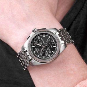 $355.00 Tissot Men's T0084174406100 PRC 100 Chronograph Watch