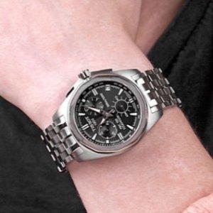 $355.00 Tissot Men's T0084174406100 PRC 100 Chronograph Watch