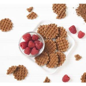 Mini Cocoa Belgian Waffles
