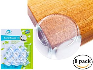 ItsyKidsyCare Cushion Corner Guards Clear 8 pack