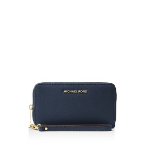 MICHAEL Michael Kors Jet Set Large Flat Multi-Function Smartphone Wristlet | Bloomingdale's
