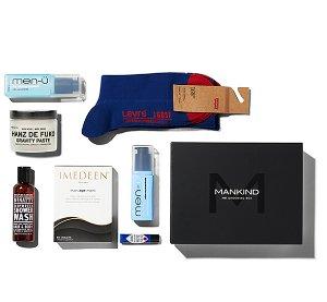£25.00(Worth £110) Mankind Grooming Box