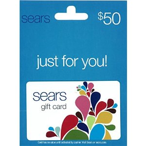 Sears Fashion $50 Gift Card: Gift Cards