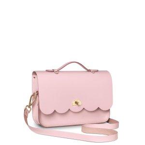 Dusky Rose Cloud Bag with Handle | The Cambridge Satchel Company