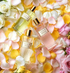 3 luxury traveler samples + Up to 6 sampleswith any $100 Aerin purchase