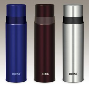 Thermos Stainless Slim Bottle 0.5L FFM-500 BL
