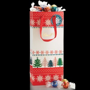 Create Your Own Snowflake and Trees LINDOR Truffles 75-pc Gift Bag | Lindt Chocolate